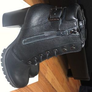Fall booties. NO BOX. Never worn